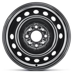 Cerchio in acciaio da 5B x 13'' ET35 per Fiat e Fiat Professional