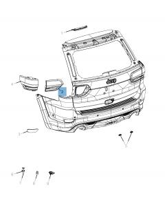 Fanale retromarcia per Jeep Grand Cherokee