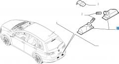 Luce targa per Fiat e Fiat Professional
